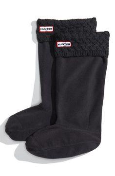 Rainboot liners to keep your feet warm.