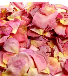 natural rose petals- isle? toss? tables?