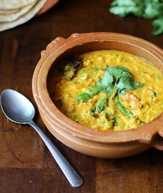 North Indian Style Curried Lentils