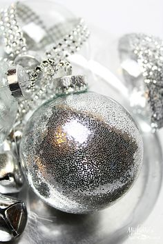 DIY Glitter Ornament