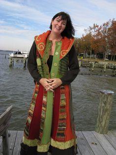 Eco Friendly Katwise Style Sweater Coat Plus Size par maisestudio, $350,00