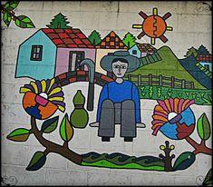 Mural in La Palma, El Salvador #art ... Photo by http://travellersoul76.com