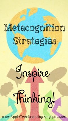 Metacognition Strategy:  Questions to inspire thinking with ANY piece of text; fiction or nonfiction. #metacognition #reading
