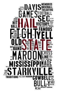"""Mississippi """"Our State""""!!!"""