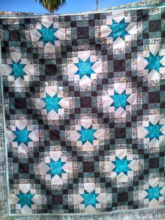 Mystery quilt.