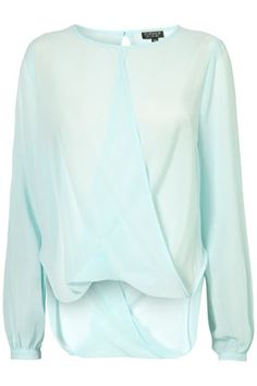 mint top by topshop