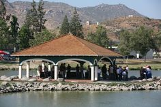 Lindo Lake, one of San Diego's few natural lakes, provides a scenic backdrop for ceremonies.  The gazebo offers a great setting for an intimate ceremony overlooking the lake, and the community center offers three indoor reception areas.  For more information visit, www.sdparks.org.