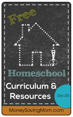 Take a look at this HUGE list of free homeschool curriculum and resources!