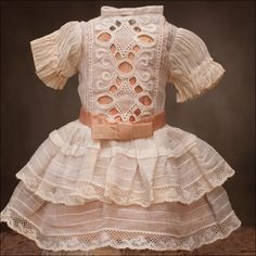 French Batiste Doll Dress