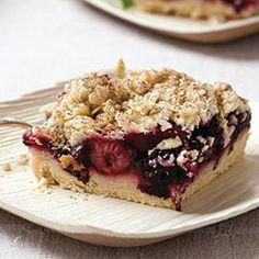 Passover Fruit Pie Bars