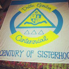 Great banner from Delta Epsilon!