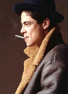 benicio del toro | Tumblr coat hat tumblr Style men