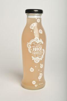 Beverage Re-Design: Juice Squeeze by Sara Stanger, via Behance