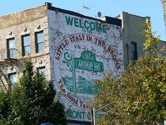 Walk in New York: Bronx : Little Italy : Arthur Avenue