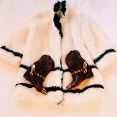 @Michael Beckerman BLOG styled the Ivy Kirzhner Revolvers with gorgeous fur