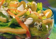Sałatka z winogronami/ Salad with grapes, www.winiary.pl