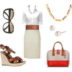 Summer Saturday, created by quasdorf on Polyvore