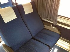 Super comfy recliners for long-distance travel between New York and Miami!