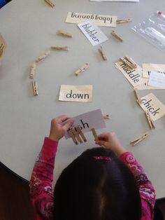 1to1letter correspondence for weekly theme words to help build vocab in our preschool room.