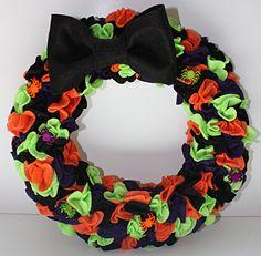spider wreath | Felt Spider Wreath Crafting the Magic
