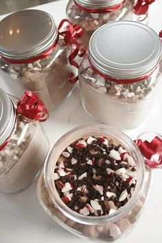 Peppermint Hot Chocolate Gift