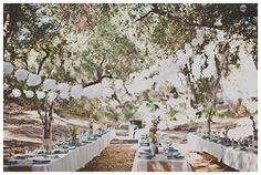 wedding trends, southern california, rustic weddings, long tables