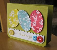 Easter Blessings Card by @Alicia T Brady Thelin