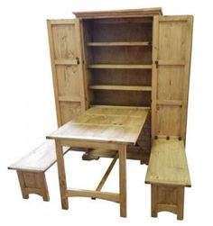 Cowboy Kitchen | Rustic Furniture .....perfect to hold the kids art supplies or puzzles......playroom/ loft armoire.....