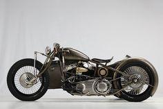 1942 Harley-Davidson U; Abnormal Cycles Union