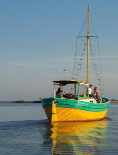 Take a sweet sunset cruise at Puerto Camacho in Carmelo, Uruguay. The Baltic Sea's all yours tonight.