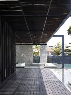 The Queen Astrid House by Aamer Architects.