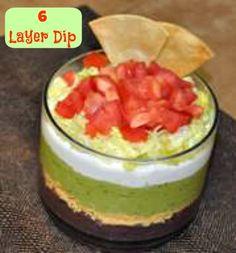 6 Layer Dip #Recipe