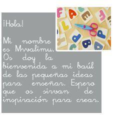 Inspirar para crear, un blog con montones de ideas para la clase de primaria#educacion