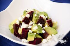 beet avocado goat cheese salad - Gluten Free Appetizer