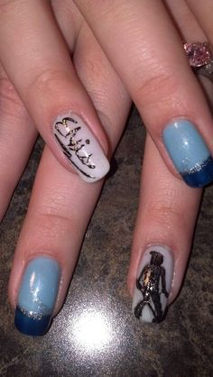 Elvis nail art