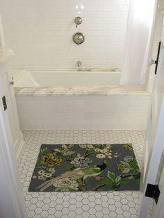 bath - subway tile