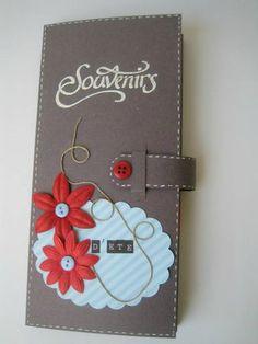 """Tuto du Mini"""" souvenirs d'été"""" de Everly Scrap : http://everlyscrap.canalblog.com/archives/2013/10/22/28266939.html"""