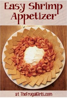 Easy Shrimp Appetizer! ~ from TheFrugalGirls.com ~ this appetizer comes together in a snap and is downright delicious, and such a party-pleaser! #appetizer #recipes