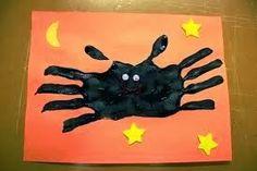 Bat handprint craft