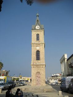 The clock tower in Jaffa. I ate a sandwich on its steps once. Years later when I took my family there, we walked past and I pointed it out.  But I really wanted to buy them all a sandwich and eat it there with them.