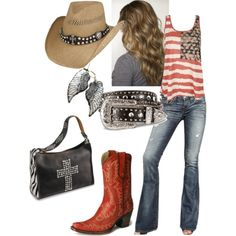 """Rodeo Ready"" by queen93reasons on Polyvore"