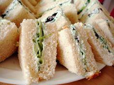 assorted tea sandwich recipes