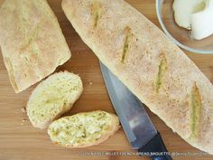 Gluten Free Millet French Bread Baguette, as good as the bakery! @Skinny GF Chef