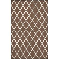 $600 Rizzy Rugs Swing Light Brown Lattice Rug