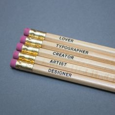 Occupation Pencil Pack