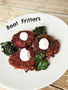 Beet Fritters
