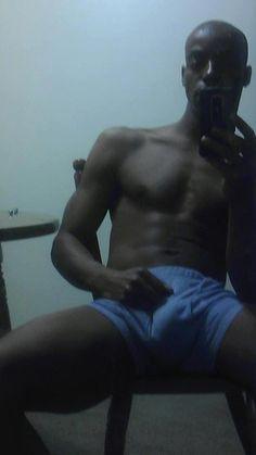 hot sexy gay man male muscles gay big bulge black
