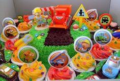 Clydes Cupcake Magic: Bob the Builder Birthday Party cupcak, bobs, birthday parties, builder cake, birthday idea, builder parti, bob the builder birthday party, parti idea, birthday cakes