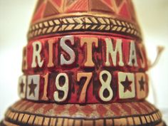1978 Hallmark Christmas Ornament Bell