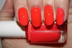 """Essie - 'Camera' (from their brand new neon """"Poppy-Razzi"""" collection for Summer 2012)"""